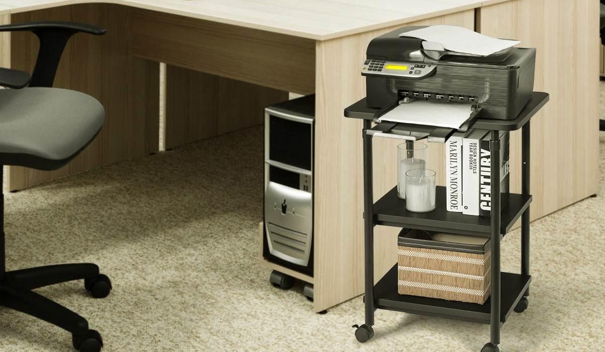 Mesas para fotocopiadoras amazon
